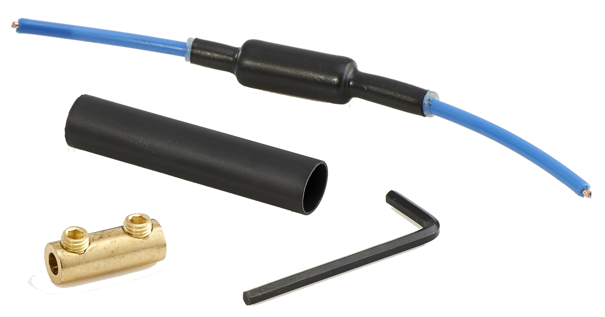 Pipe bursting tracer wire connectors